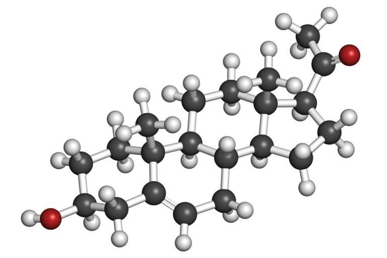 Pregnenolon Strukturformel